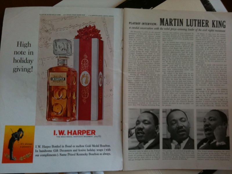 Playboy Magazine Featuring and Interview with Dr. Martin Luther King, Jr., 1960