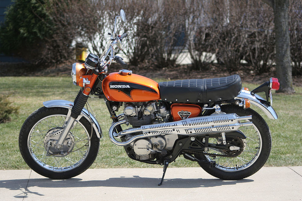 Matt Ramirez - The Stunt Monkey - 71 Honda CL 450 Scrambler