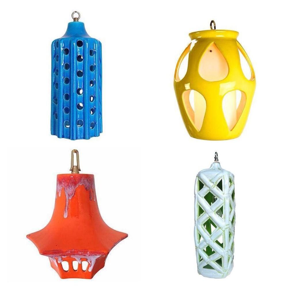 Vintage Pendant Lights via Chairish
