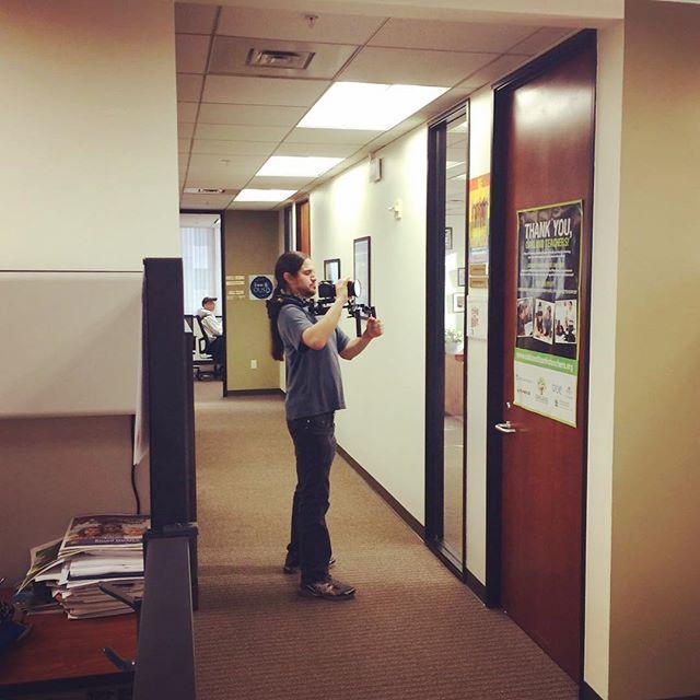@loudspeakerfilms DP Vincent Cortez @ousdnews  #oakland #indiefilm #cinematography