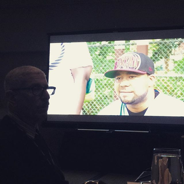 Great #screening and #discussion last night in #seattle with #saybrook university #thinkofcalvin #stopandfrisk #racialprofiling. Watch #trailer at Teached.org, films, Vol II