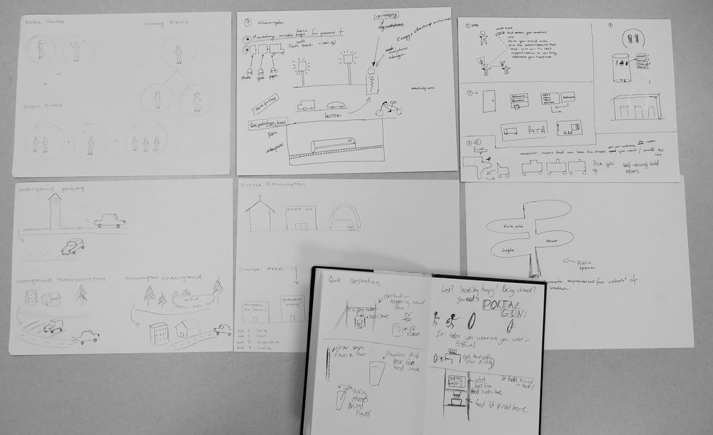 Concept Sketching -