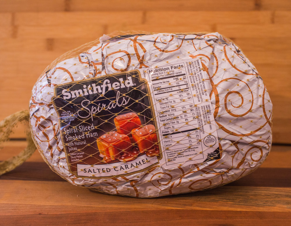 SMithfield Spiral Sliced Salted Caramel Ham
