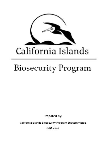 - California Islands Biosecurity Program (2013)