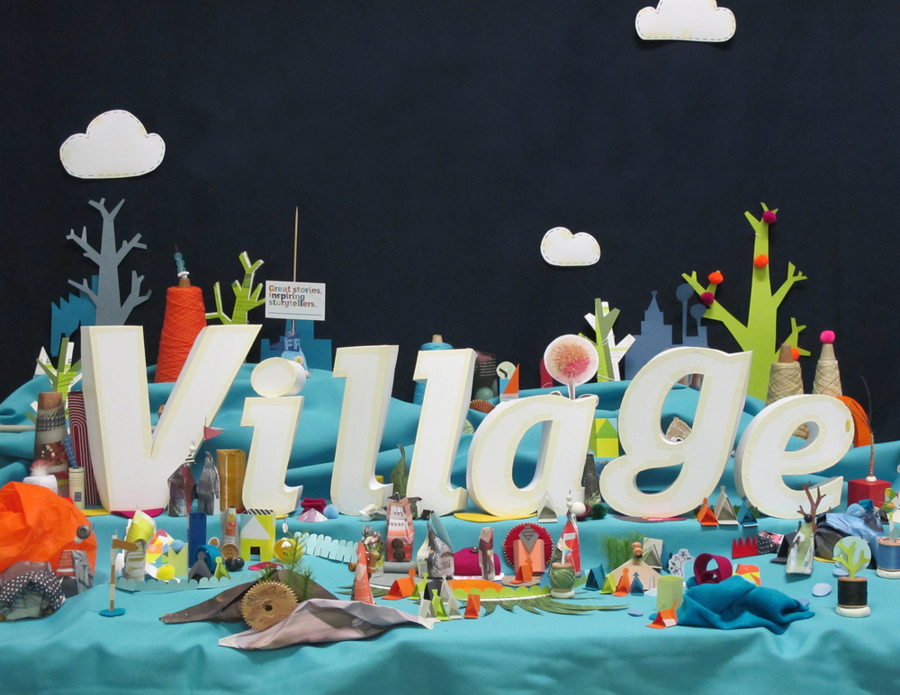 Set development for Midnightsky's 'Welcome to the Village' project.