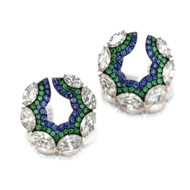 JAR earrings