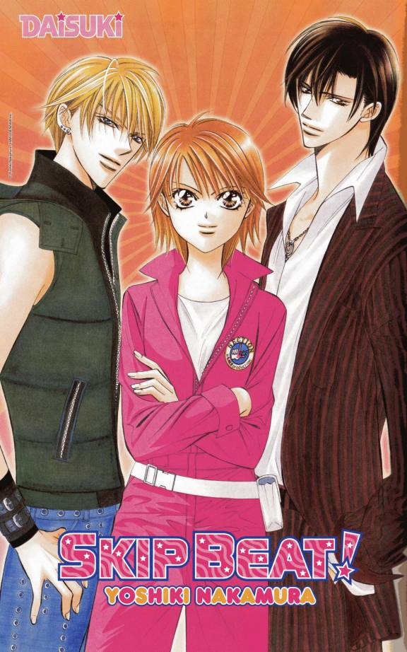 "The ""Skip Beat!"" series of Manga graphic novels."