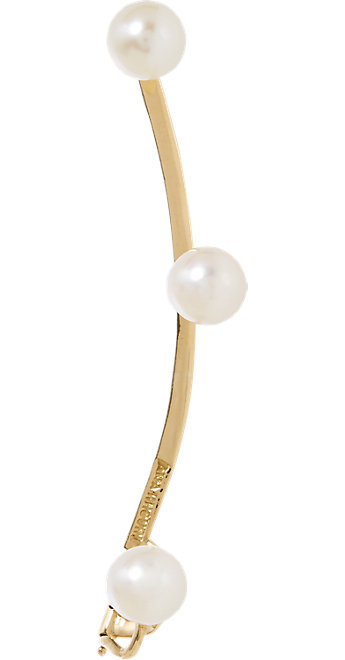 Ana Khouri Jane ear cuff in pearls and 18k gold, $2,900, available at Barneys New York.