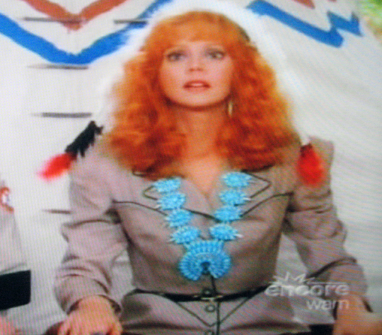 We had to. Shelley Long as Phyllis Nefler in Troop Beverly Hills.