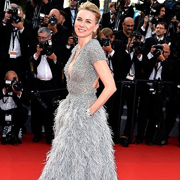 Elie Saab with pockets on Naomi Watts.