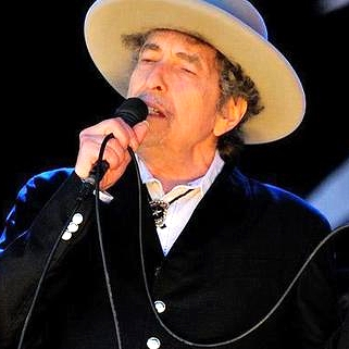 Bob Dylan, 74 years young on May 24, 2015