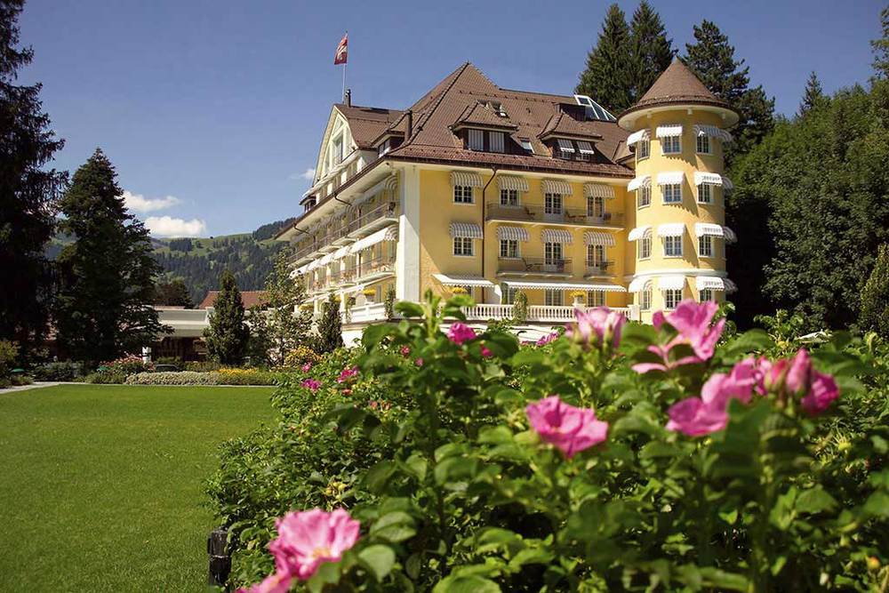 Le Grand Bellevue in Gstaad.