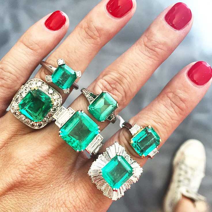 We can never get enough emerald. That's all.