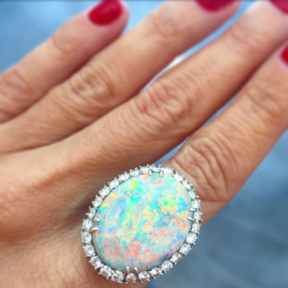 There are no words for this opal. So we'll just say: $38,500.