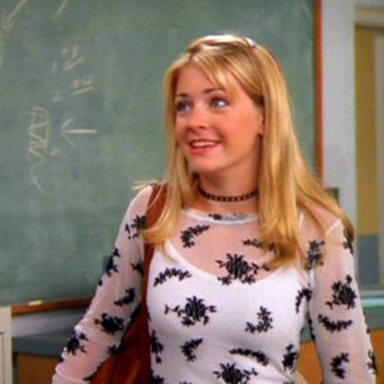 No words. Clarissa did indeed explain it all. Including the proper way to rock a choker in the 1990's.