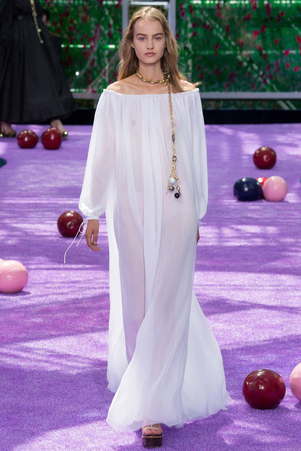 More ethereal goodness, this time from  Christian Dior . Including a necklace that could double as a very chic dog collar and leash.