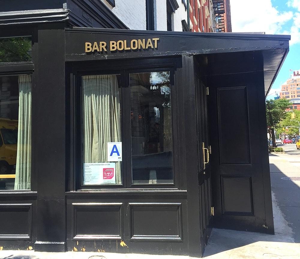 Bar Bolonat, a MUSE neighborhood fave.