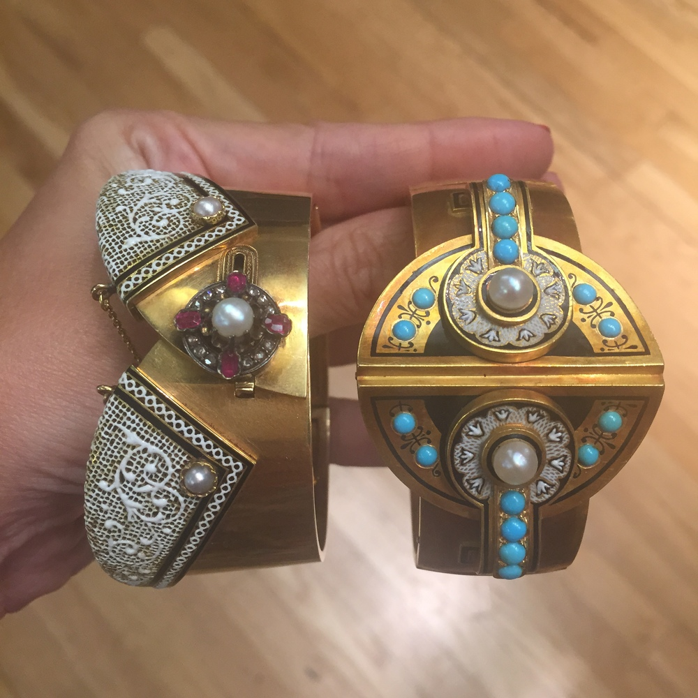 Victorian cuffs from Bell and Bird.