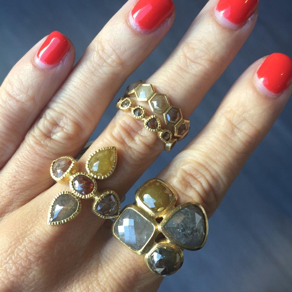 Rings rings rings gimme gimme gimme.