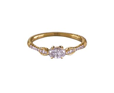 .30ct Diamond Rapture Snake Ring available at  twistonline.com