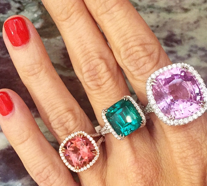 Just your average spinel and emerald stack you guys.