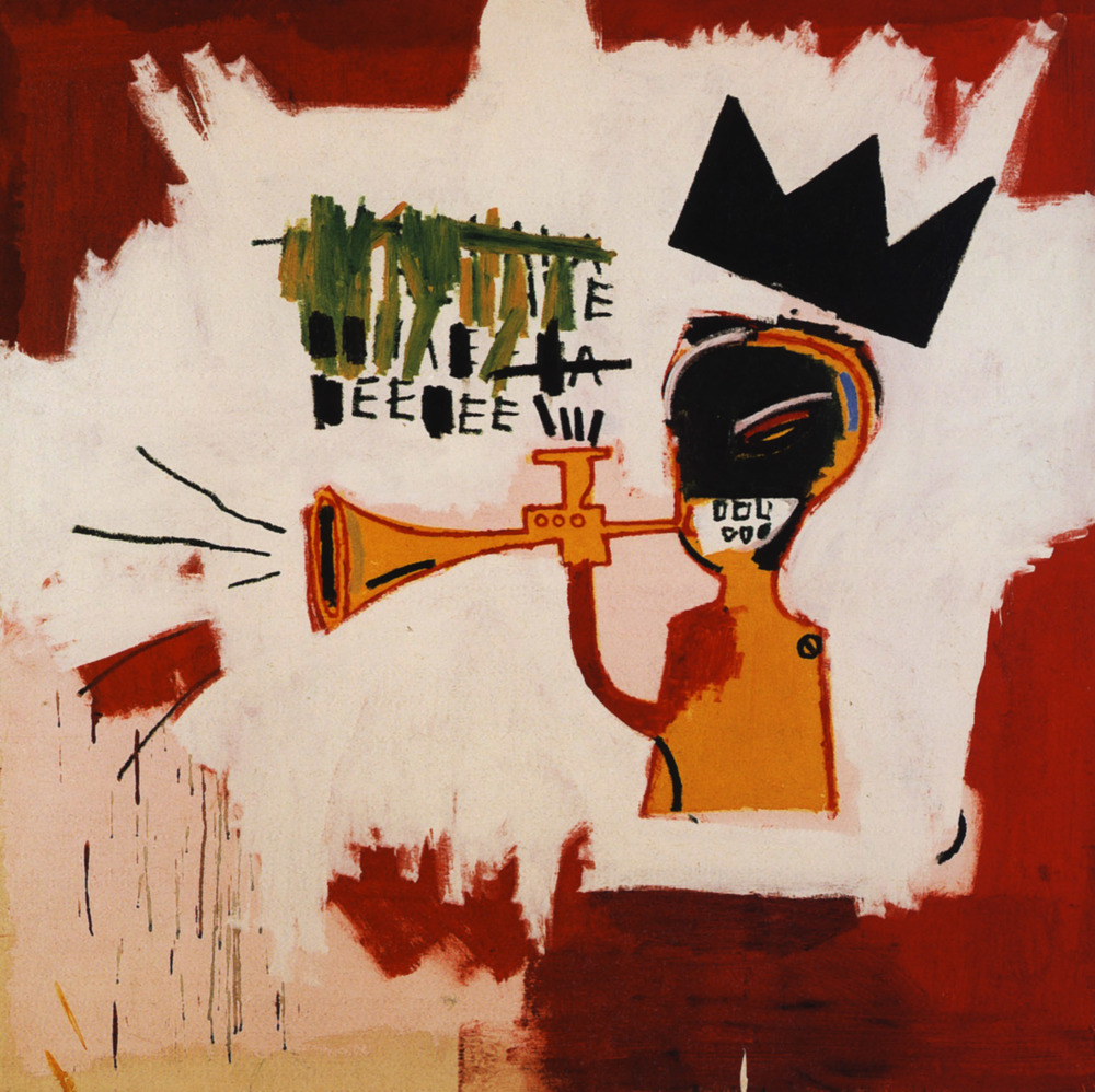 Trumpet by JMB, featuring the famous 'crown' insignia, which is often an influencer of current artists, like Carole Le Bris Perez.