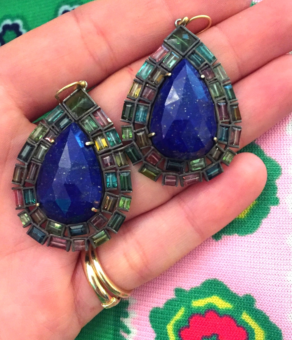 Giving us the blues...only because we don't own these lapis babies.