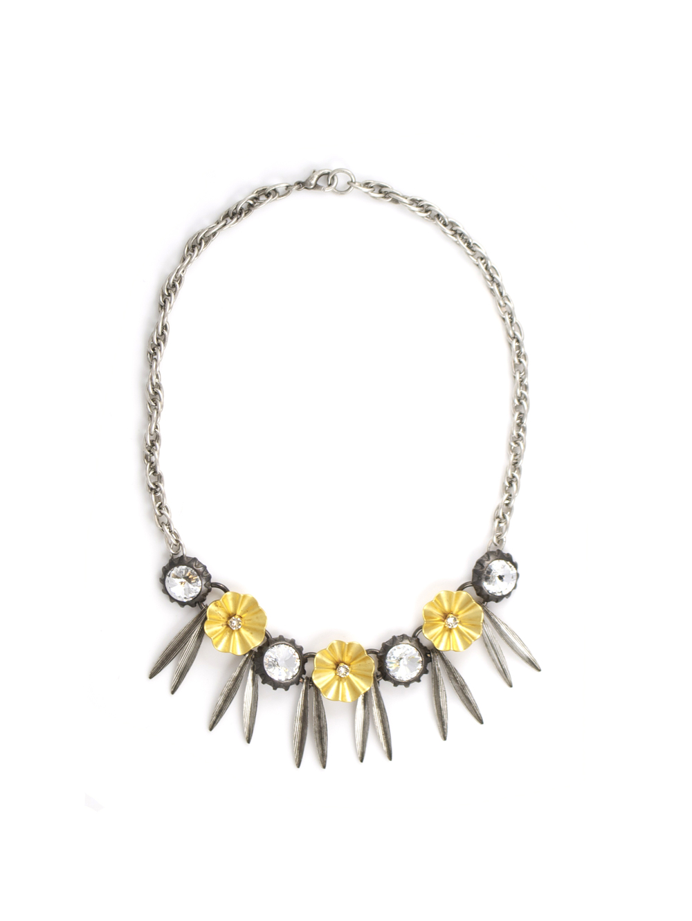 Flower Shower necklace, available at  Gerard Yosca .