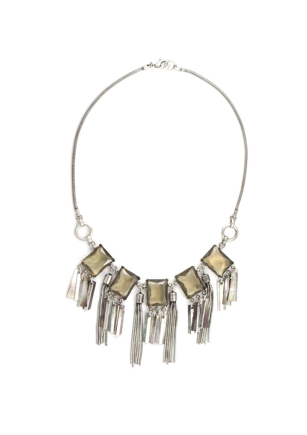 Smokey Shimmer necklace, available at  Gerard Yosca .