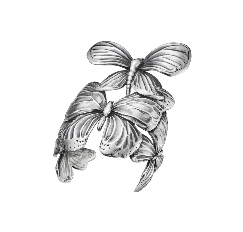 The Askill Collection for Georg Jensen  cuff in silver.