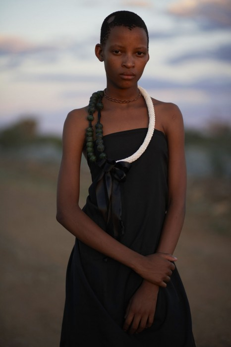 An editorial image from Anna's last project, Jewels of the Kalahari.