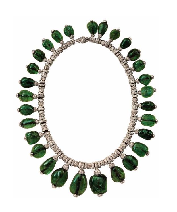 Merle Oberon's Cartier necklace.