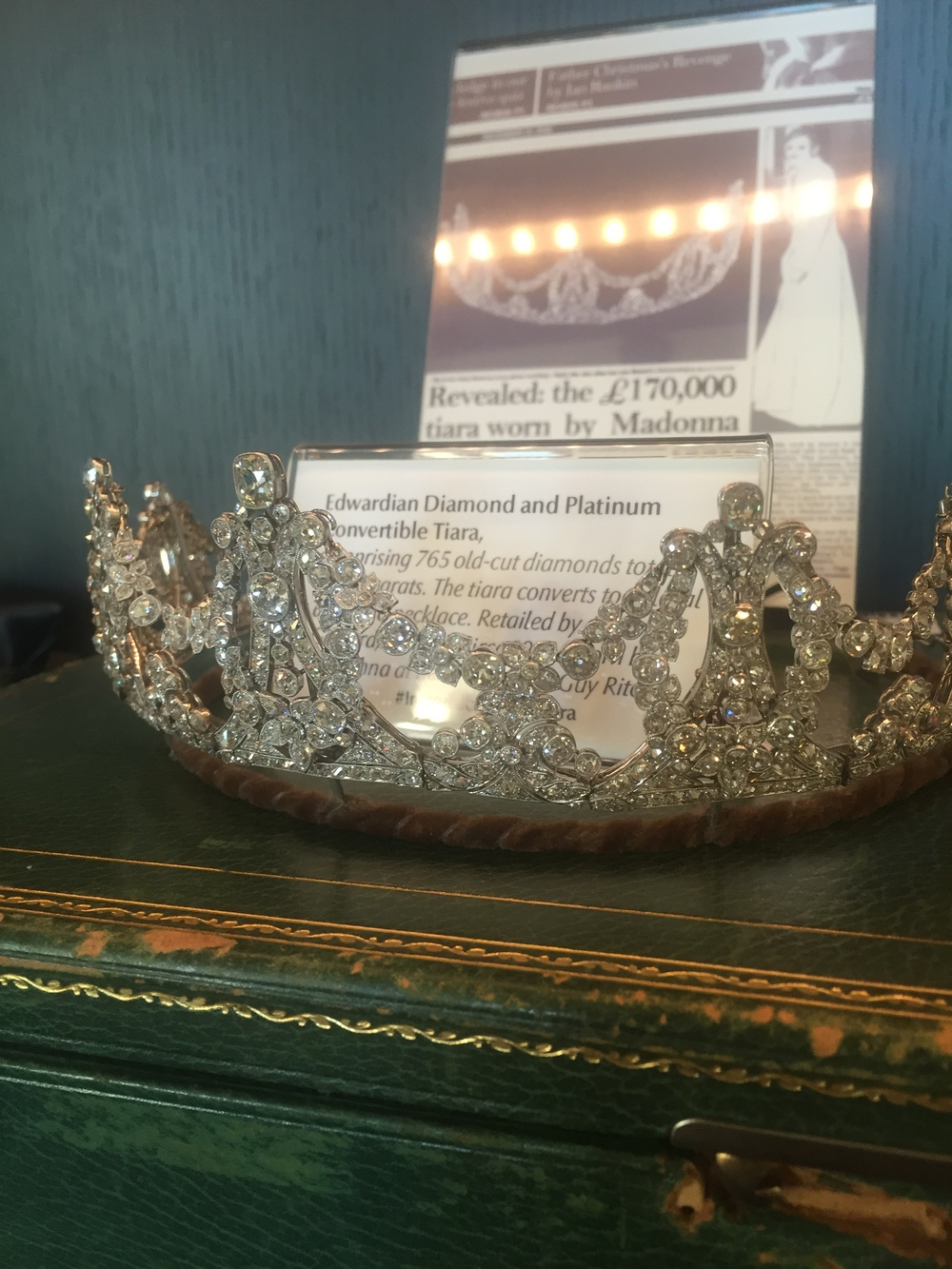 Tiaras for, like, brunch, etc.