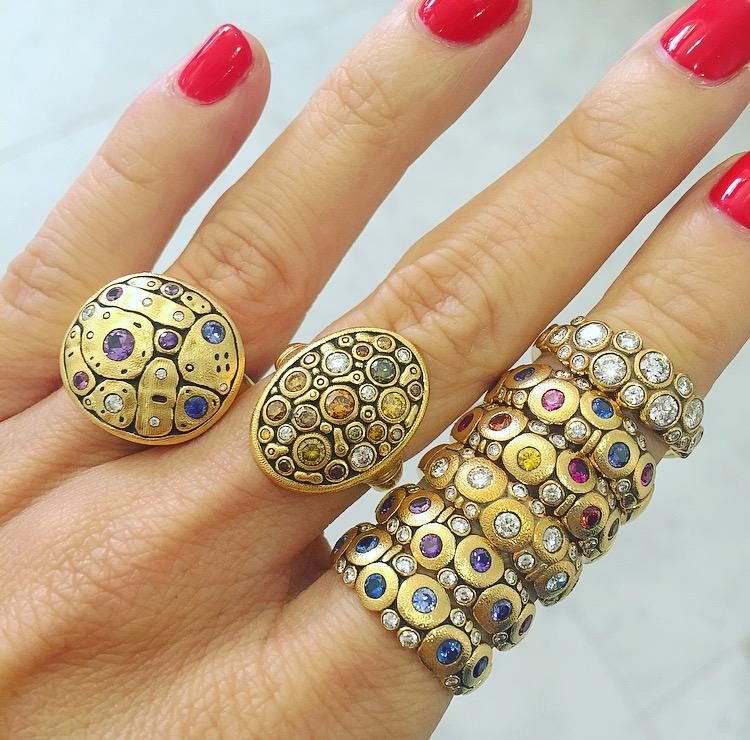 Classic Alex Sepkus rings