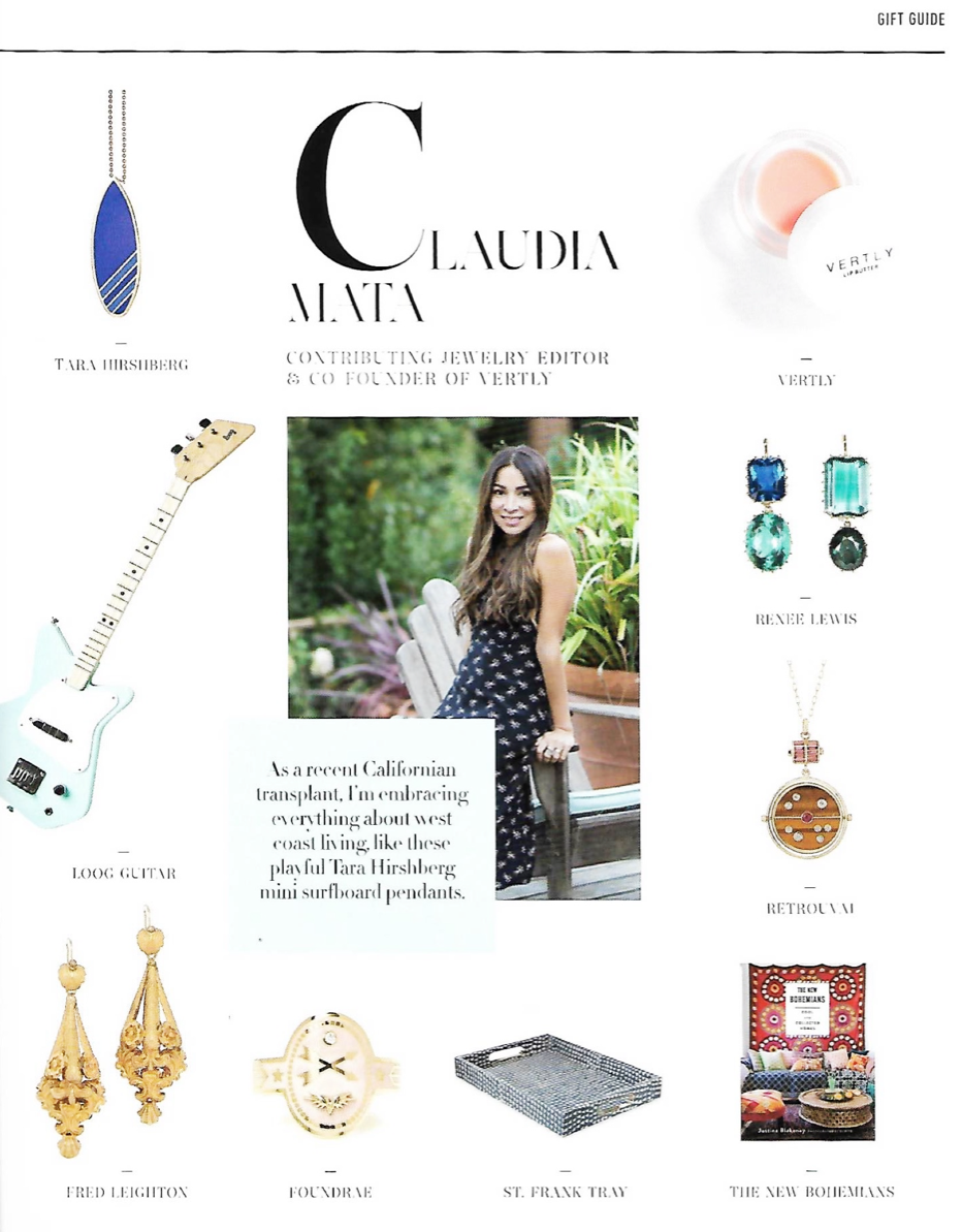 Retrouvaí in The Jewelry Journal