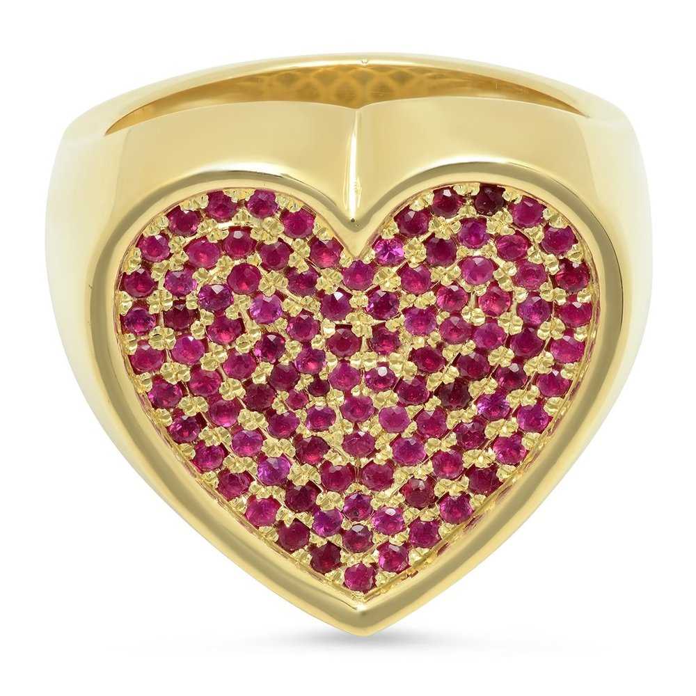 Heart Surface Ring - 18k YG Pave Rubies.jpg