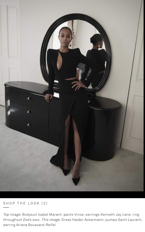 Ariana Boussard-Reifel on PORTER Edit