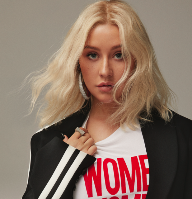 Emily P Wheeler on Christina Aguilera - Cosmo October 2018