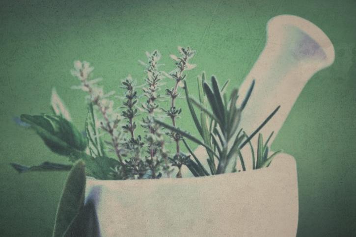 Candice Sardella Herbs Mortar and Pestle