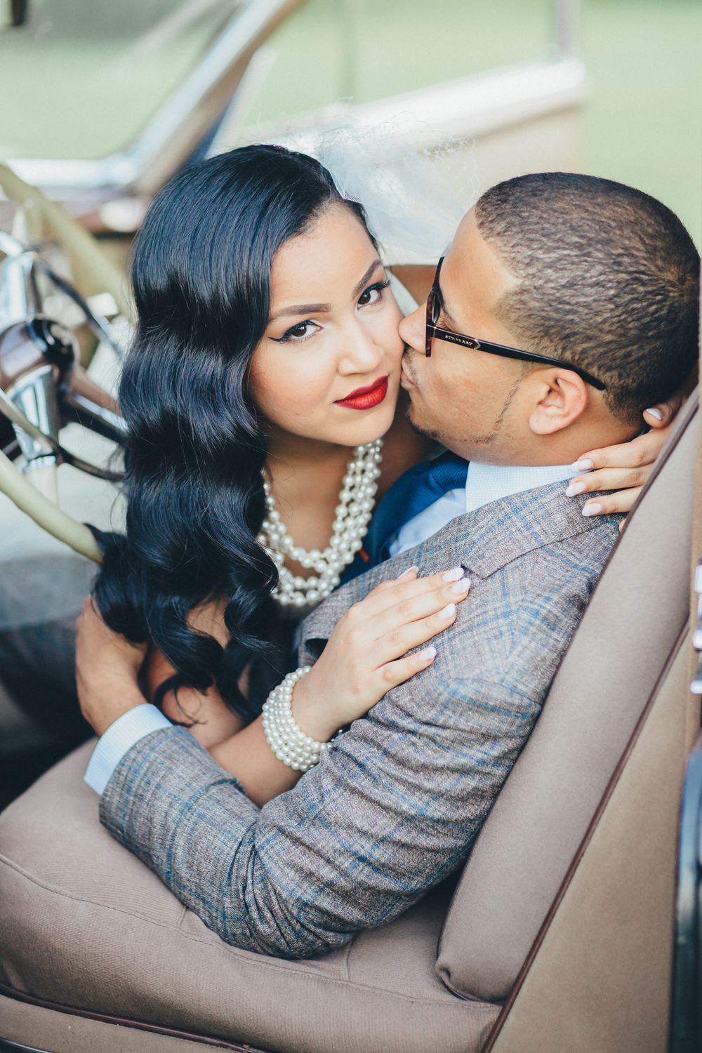 Vintage Car Engagement Photography New York Engagement Photographer Boris Zaretsky_B2C9068.jpg