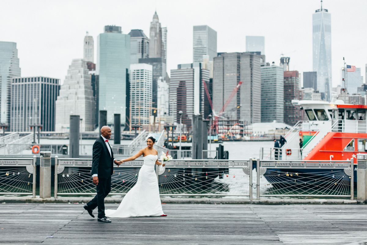 New York City Hall Elopement by Brooklyn NYC Wedding Photographer ...