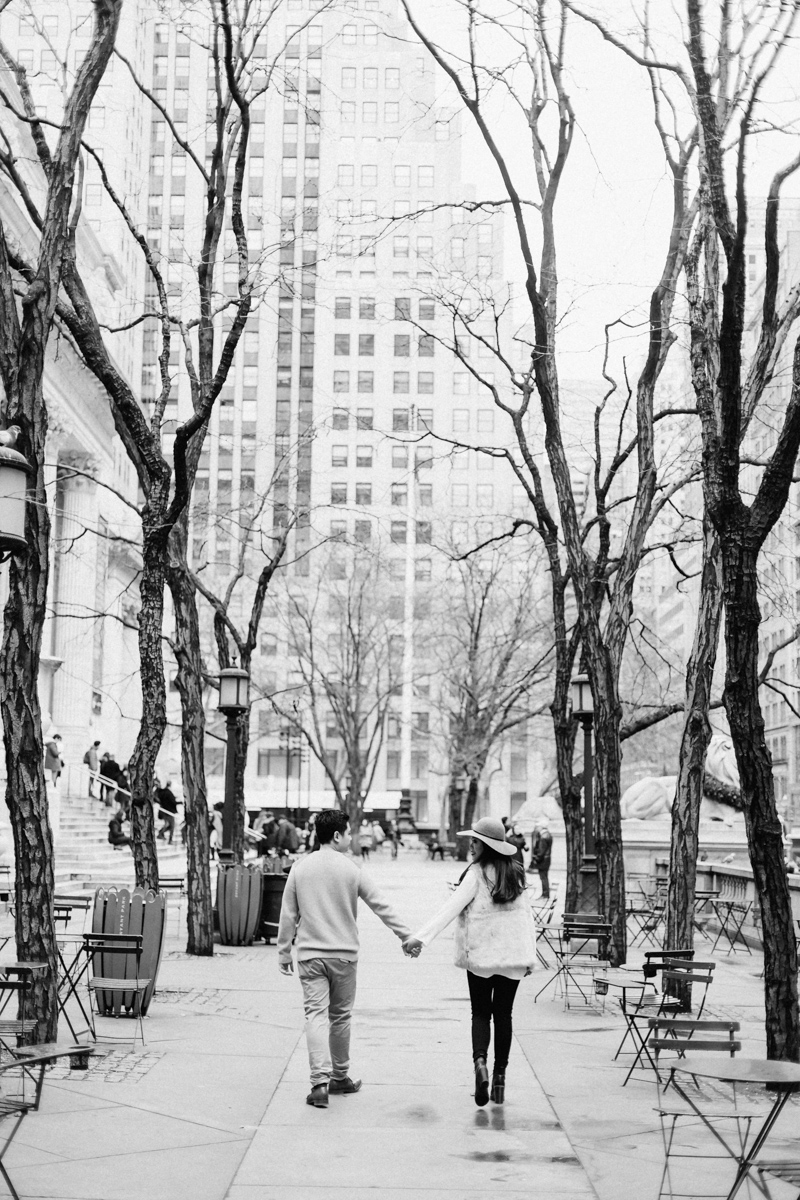 Brooklyn NYC Wedding Photographer Boris Zaretsky Bryant Park Dumbo Engagement-4.jpg