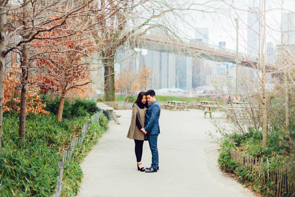 Brooklyn NYC Wedding Photographer Boris Zaretsky Bryant Park Dumbo Engagement-40.jpg