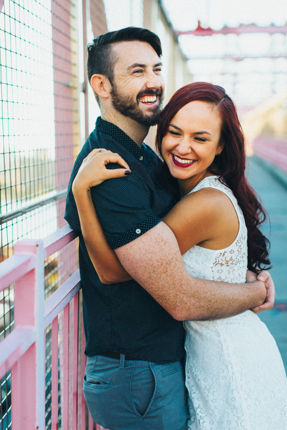 Brooklyn Greenpoint Williamsburg Bridge Engagement New York Wedding Photographer Boris Zaretsky _B2C9745.jpg