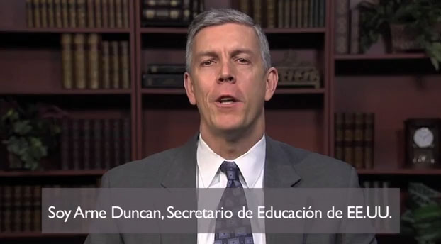 Secretary of Education Arne Duncan. (YouTube)
