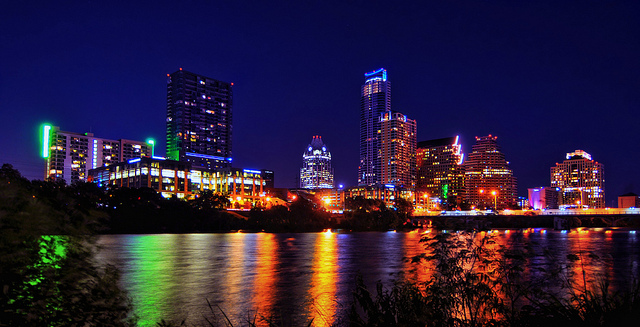 A view of Austin, Texas where the SXSW conference is held annually. (Photo via Flickr user Robert Hensley)
