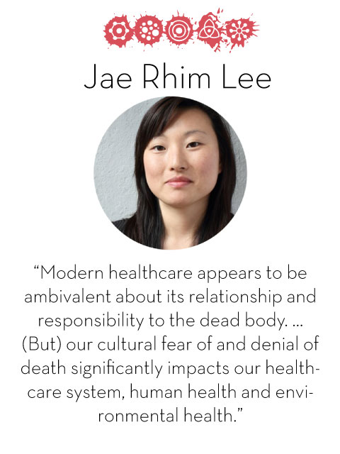 Jae Rhim Lee, d.school fellow 2014-2015