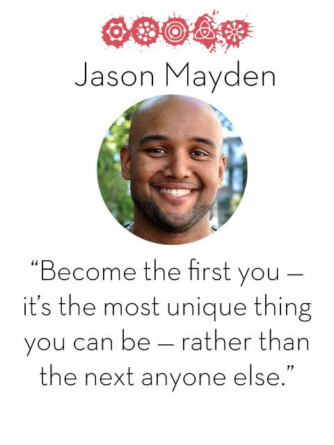 Jason Maydent, d.school fellow, 2014-2015