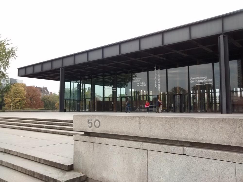 The Neue Nationalgalerie in Berlin. (Emi Kolawole)