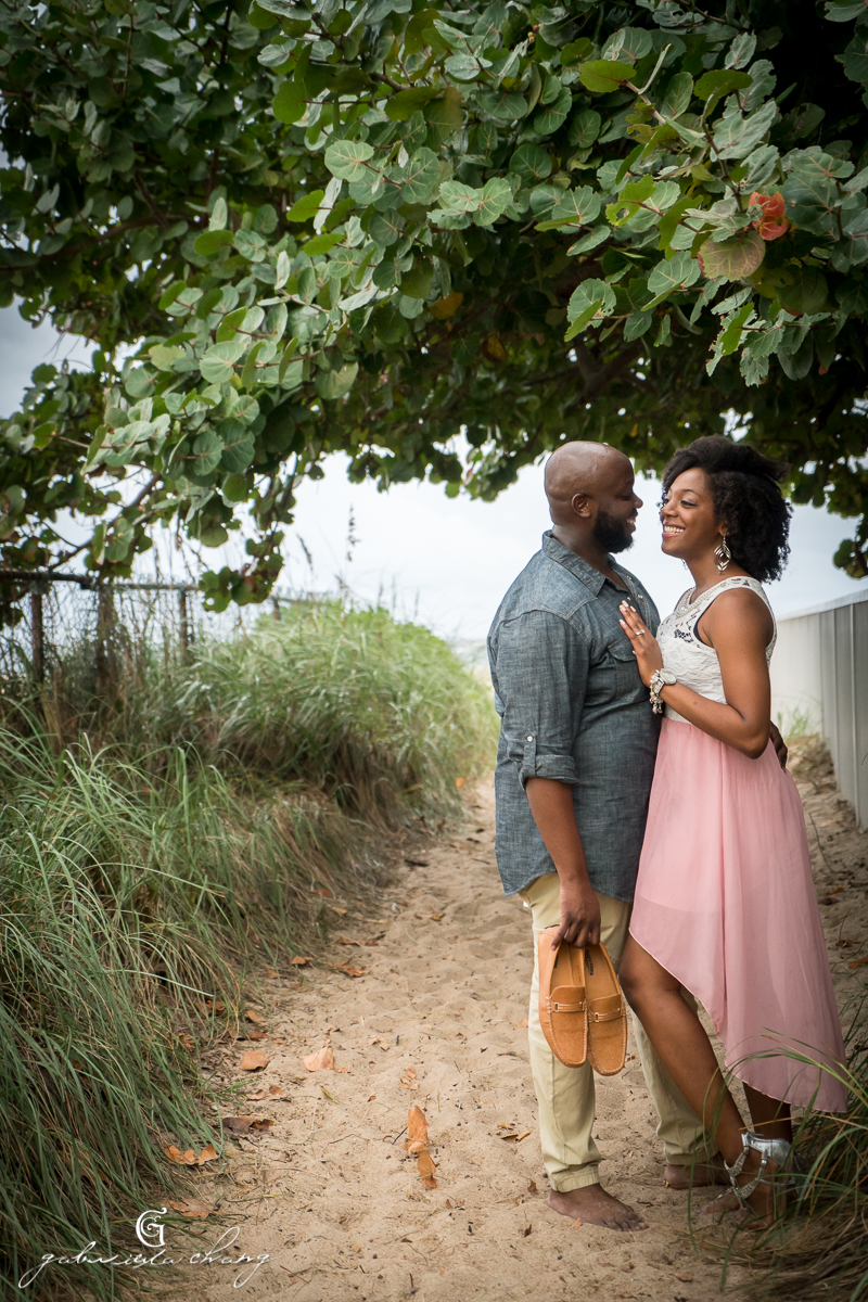 Harbor Isles Beach Engagement by Gaby Chang6.JPG